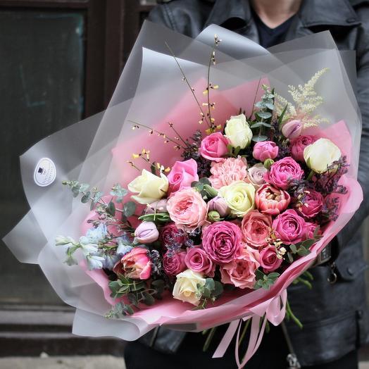 Приятная Беатрис: букеты цветов на заказ Flowwow
