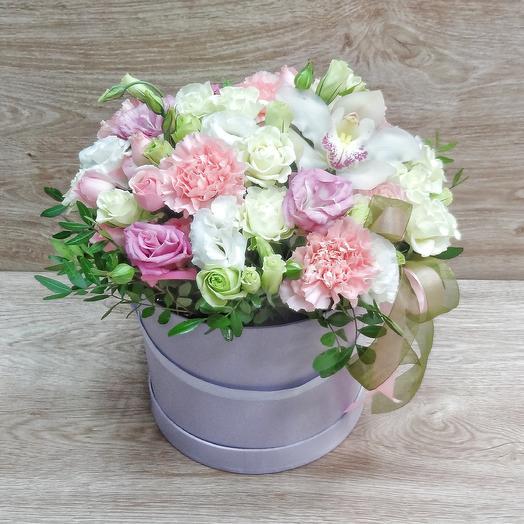 Коробка 2: букеты цветов на заказ Flowwow