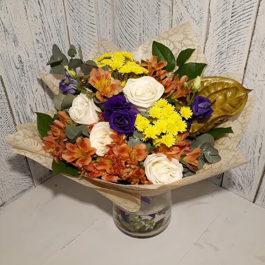 """Букет """" от всей души"""": букеты цветов на заказ Flowwow"""