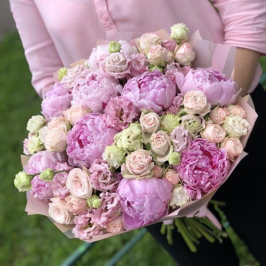 Зефирное облачко: букеты цветов на заказ Flowwow