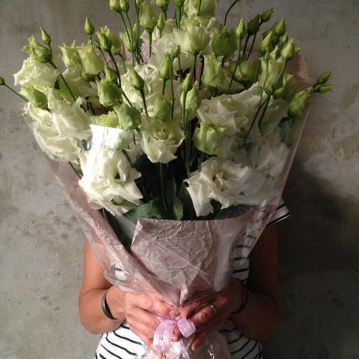 Eustoma: букеты цветов на заказ Flowwow