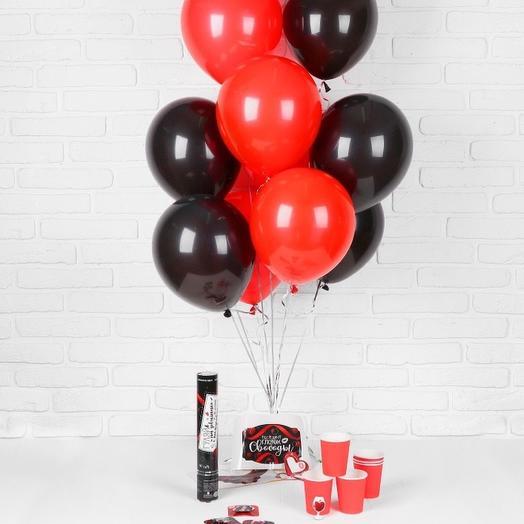 «Красное   чёрное»: букеты цветов на заказ Flowwow