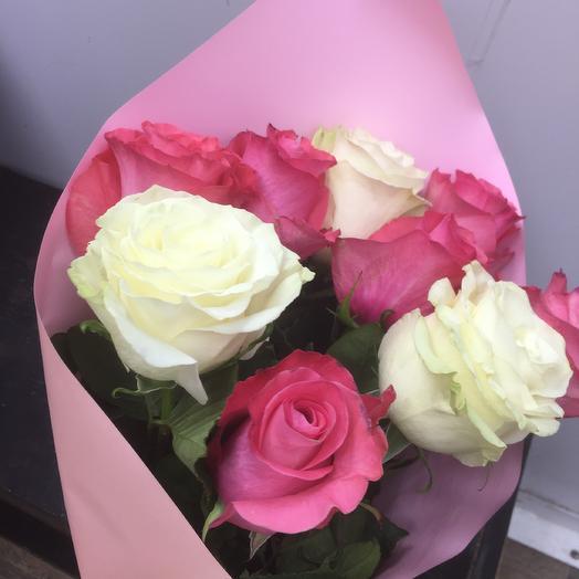 Розы 🌹: букеты цветов на заказ Flowwow