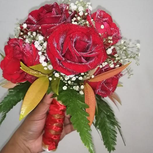 Majestic Hand Weeding Bouquet: flowers to order Flowwow
