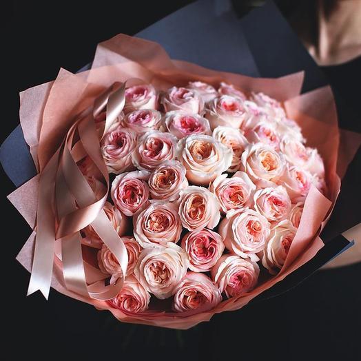 "Букет ""Анжи Романтика"" Large: букеты цветов на заказ Flowwow"