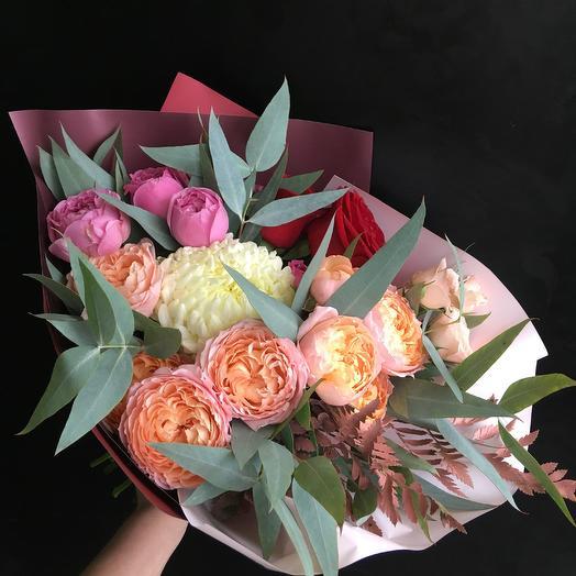 Очаровательный осенний букет: букеты цветов на заказ Flowwow