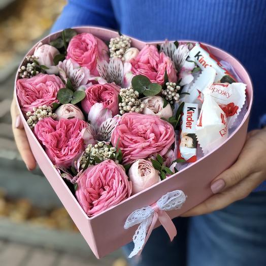 Розовое наслаждение: букеты цветов на заказ Flowwow
