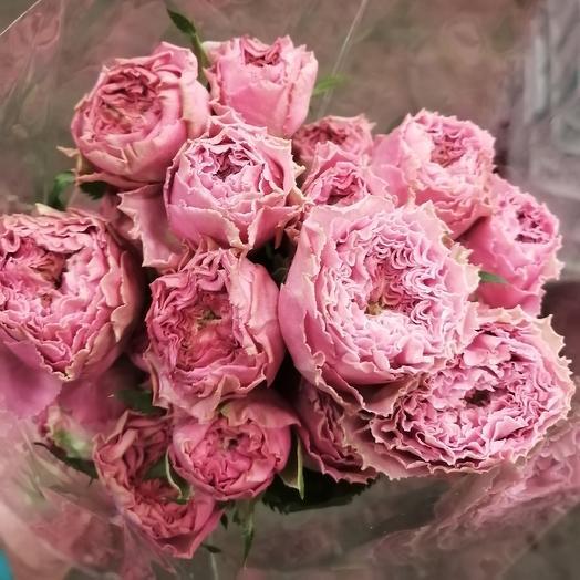 Пионовидная роза: букеты цветов на заказ Flowwow