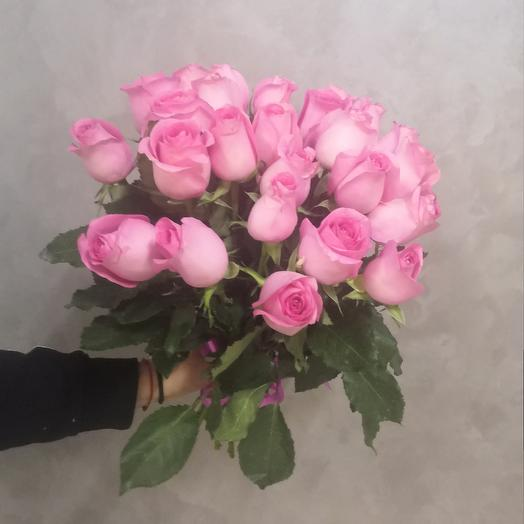 25 pink roses: flowers to order Flowwow