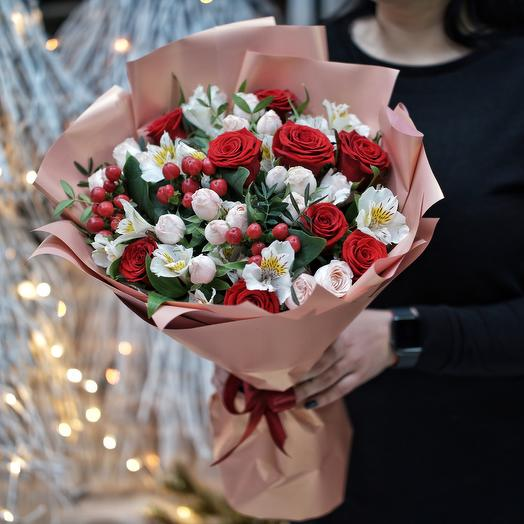 Букет Ред лорд: букеты цветов на заказ Flowwow