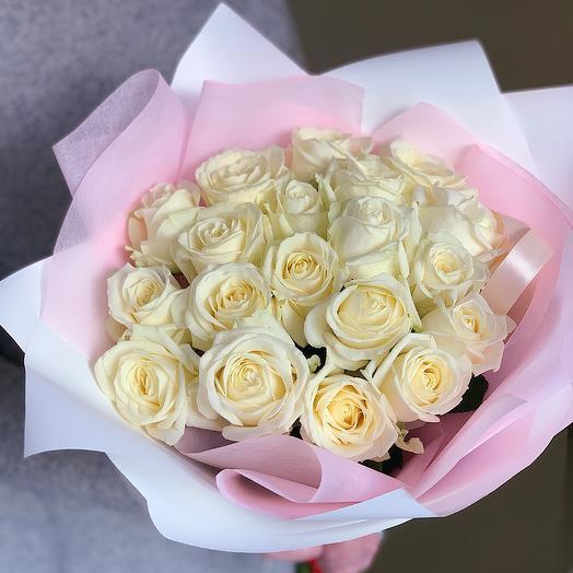 Мраморный: букеты цветов на заказ Flowwow