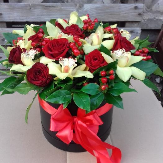 Коробка сборная 5: букеты цветов на заказ Flowwow