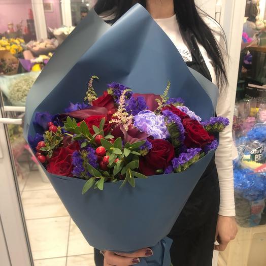 Букет шанель: букеты цветов на заказ Flowwow