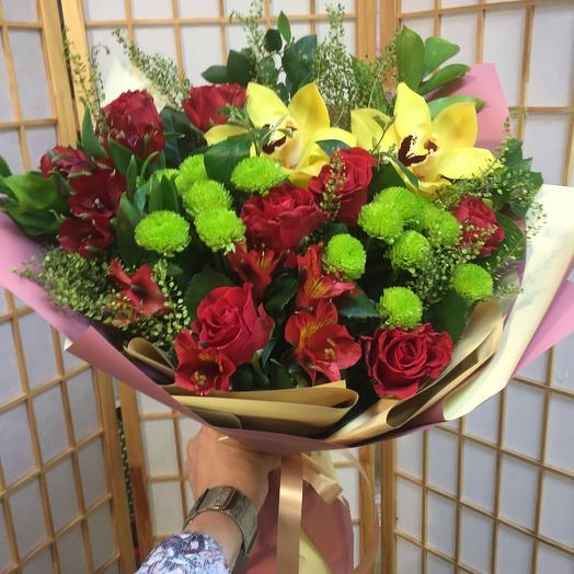 Страсть для любимой: букеты цветов на заказ Flowwow