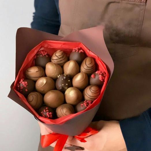 Клубника в шоколаде М