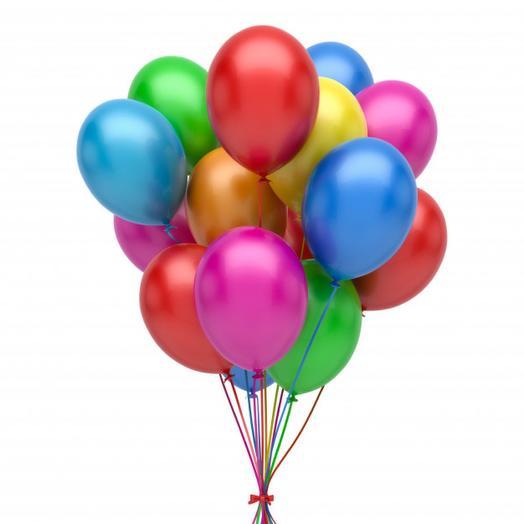 Одноцветные шары