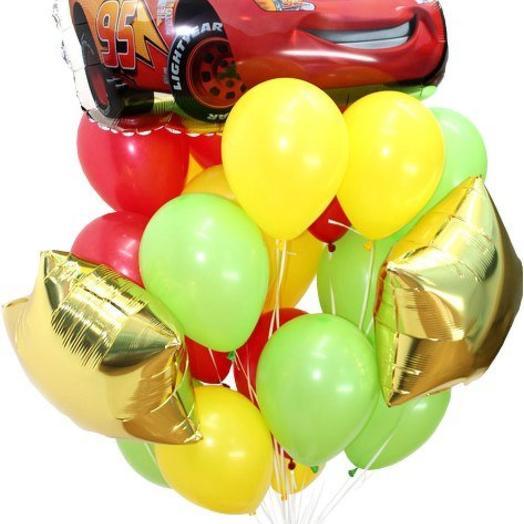 Гелиевые шары, композиция с шаром  Тачка