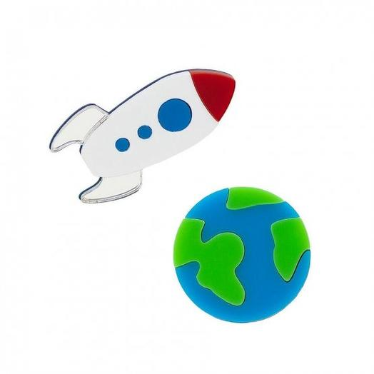 Комплект Planet Earth + Rocket Ship