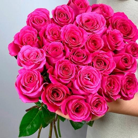 25 шт из премиум ароматных роз