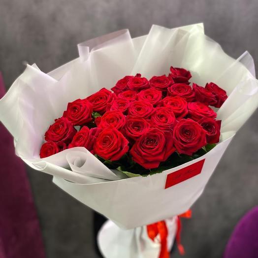 Букет бархатных роз