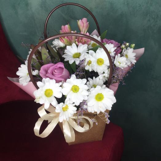 Цветы в сумочке 3