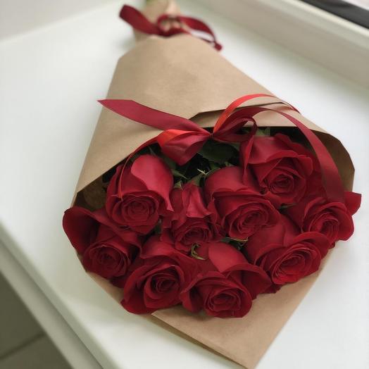 9 Эквадорских роз