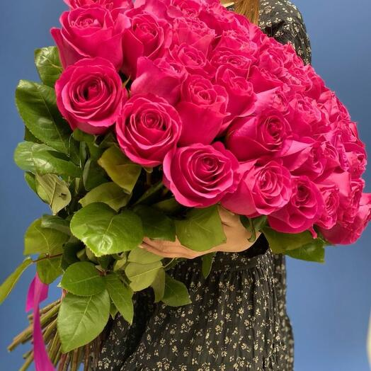 45 роз «Пинк Флоид» Эквадор