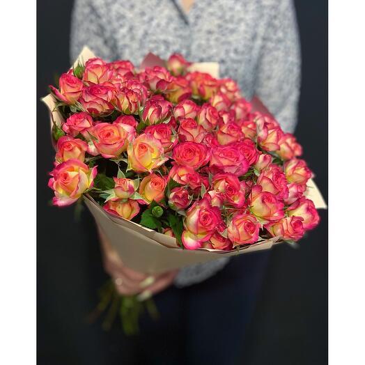 Кустовые розы Mic Mac