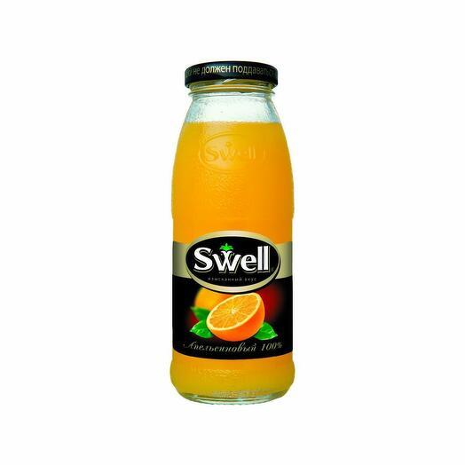 Сок апельсиновый Свелл 250 мл