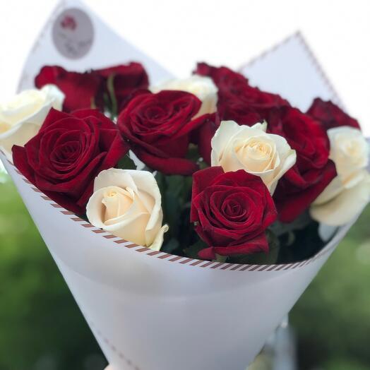 Букет из роз «Торжественный»