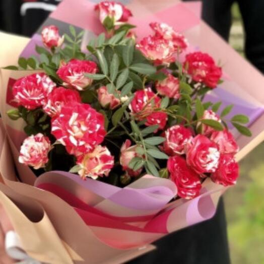 Букет из розы Файервокс