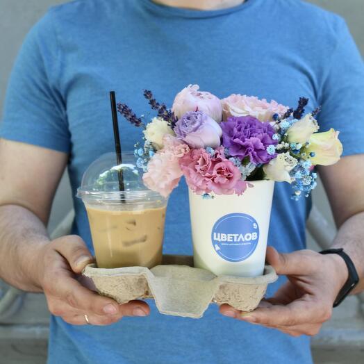 Цветы и Холодный кофе
