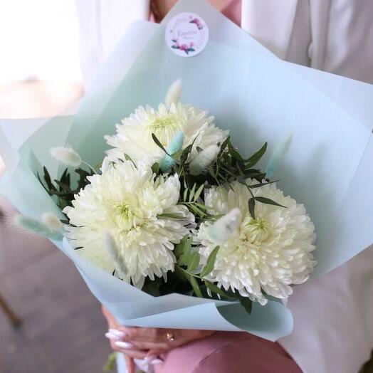 Воздушные хризантемы 🌸