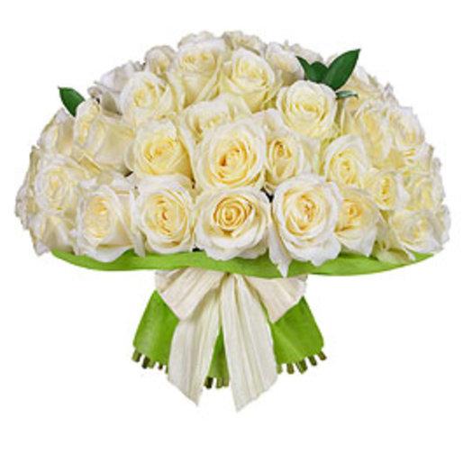 25кремовых роз