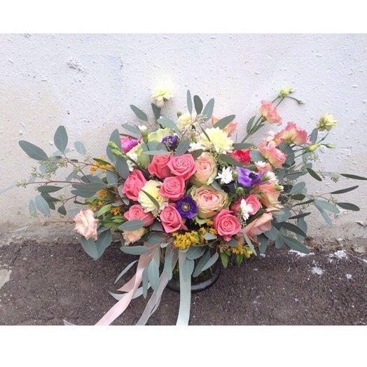 Цветочная симфония: букеты цветов на заказ Flowwow