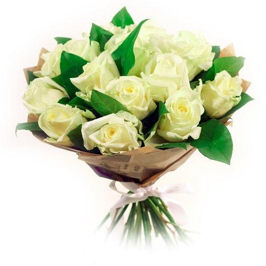 Ванильный зефир: букеты цветов на заказ Flowwow