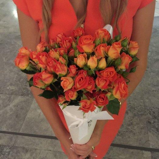 Композиция Orange Paradise: букеты цветов на заказ Flowwow