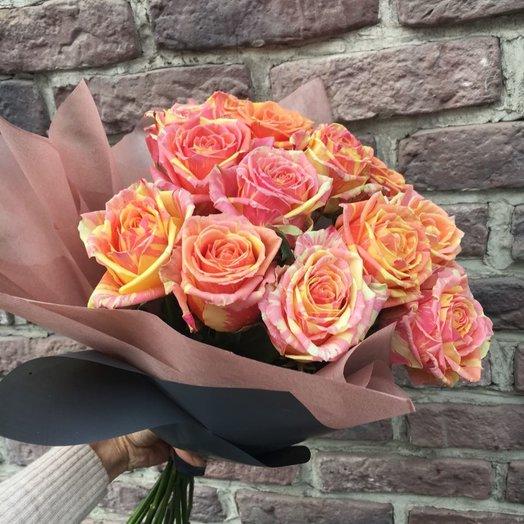 Роза Двухцветная: букеты цветов на заказ Flowwow