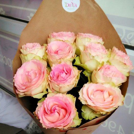 Нежная стойкая роза эсперанса: букеты цветов на заказ Flowwow