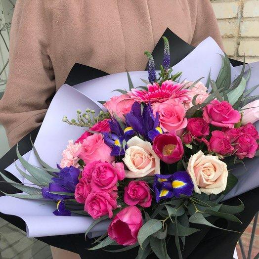 """Букет """"Лиловые сумерки"""": букеты цветов на заказ Flowwow"""