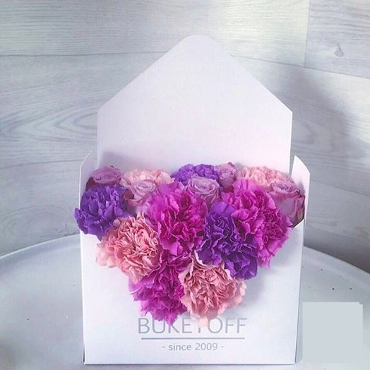 "Конверт ""Unicorn"": букеты цветов на заказ Flowwow"