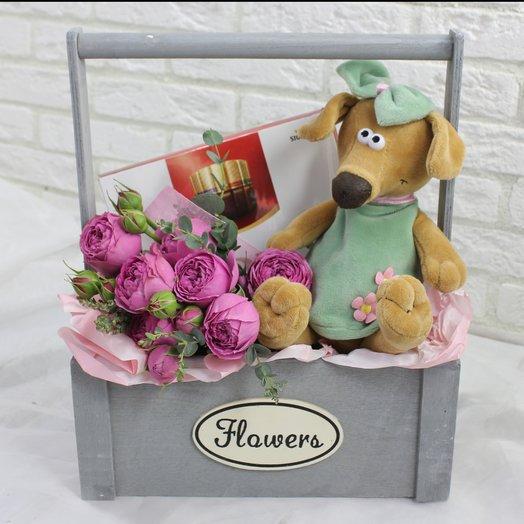 Жужа: букеты цветов на заказ Flowwow