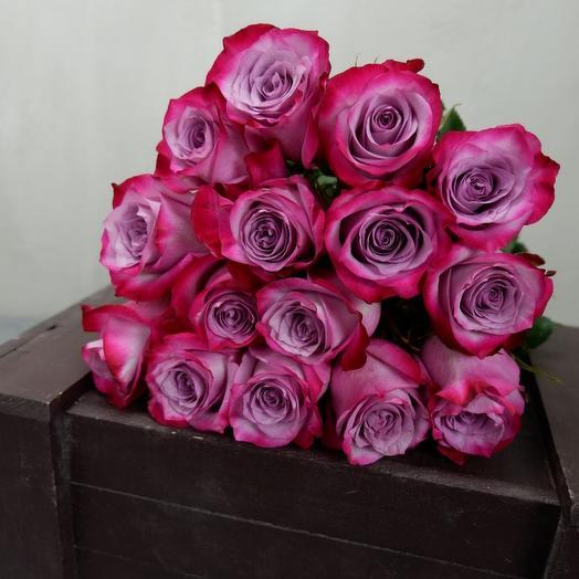 Роза 15: букеты цветов на заказ Flowwow