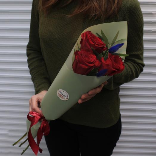 Букет «С изюминкой»: букеты цветов на заказ Flowwow