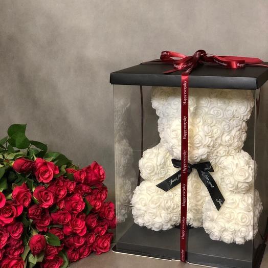 Набор «Моя нежность»: букеты цветов на заказ Flowwow