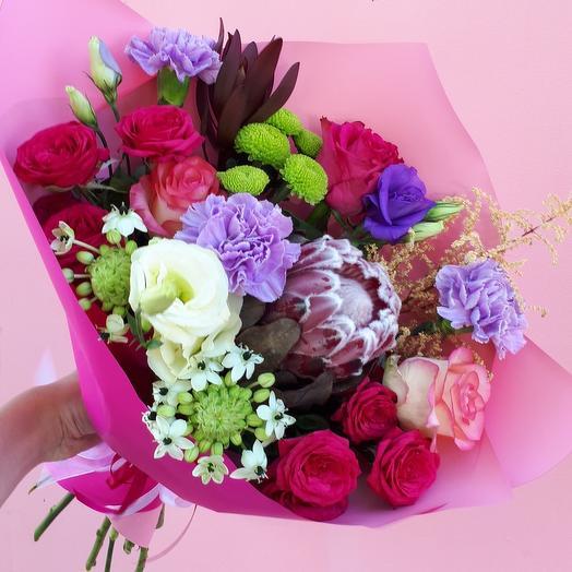 Букет «Экзотика»: букеты цветов на заказ Flowwow