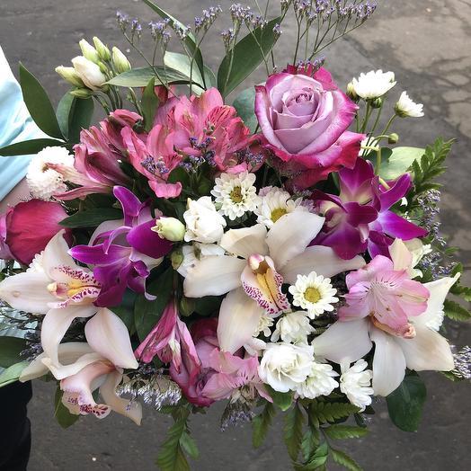 Ароматная коробочка: букеты цветов на заказ Flowwow