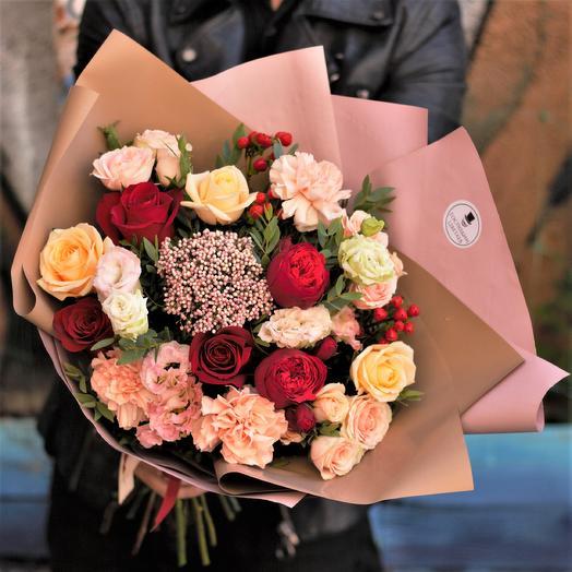 Чарующий Чарли: букеты цветов на заказ Flowwow