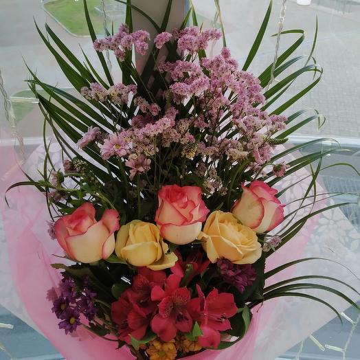 Не обыкновенное чудо: букеты цветов на заказ Flowwow