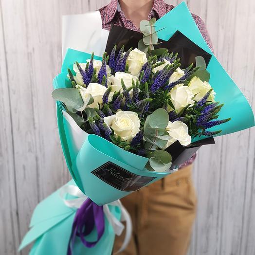Тиффани Блэк: букеты цветов на заказ Flowwow